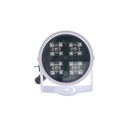 CMVision IR40 Weitwinkel 60-80 Grad der Energie LED 100 Fuß Lange Innenreichweite und unsere Tür IR Array Illuminator 12V DC 3A 4 Stück (Kein Netzteil)