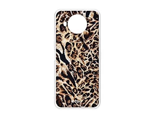 etuo Cover per Nokia 8.3 5G, motivo leopardato, per cellulare