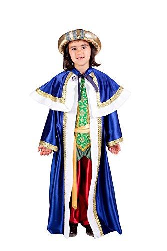 Disfraces Nines - Disfraz de rey mago baltasar infantil (talla 9-11 años)
