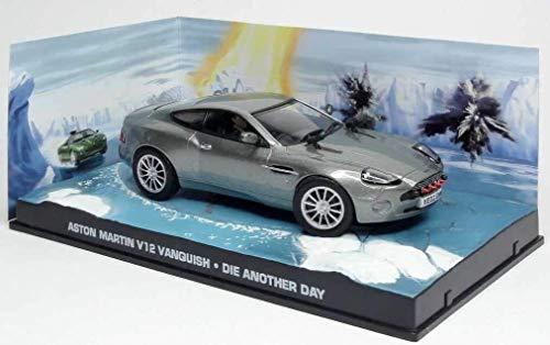 アストンマーチン 1/43 ミニカー ASTON MARTIN V12 VANQUISH ボンドカー ジェームズボンド 映画 007 ダイ・...