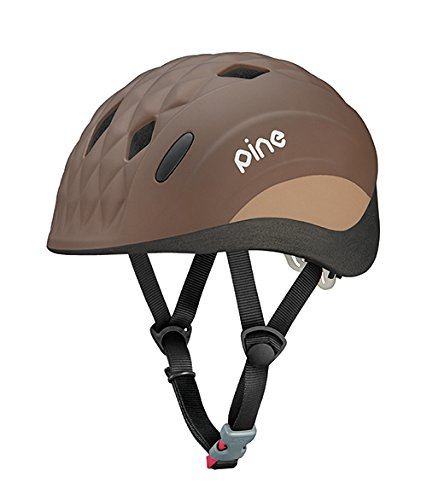 オージーケーカブト(OGK KABUTO) 自転車 ヘルメット 子ども用 PINE(パイン) ベアーブラウン 幼児用(頭囲:47~51cm)