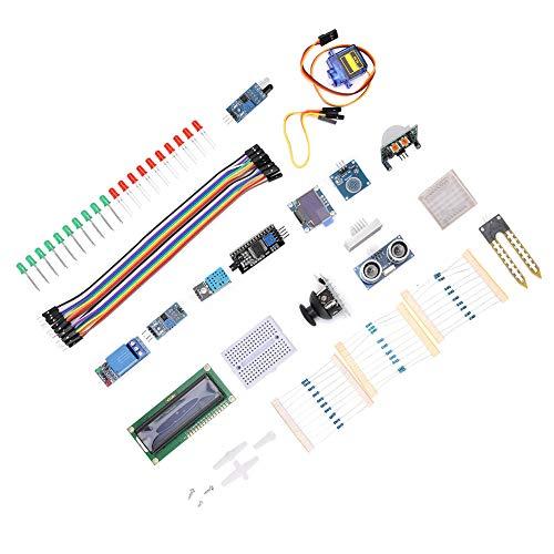 Kit de Módulo de Sensor, Componente Electrónico de Inicio de Aprendizaje para Principiantes V3.0 para Mega Set, con Tamaño Pequeño, Buen Rendimiento y Larga Vida Util