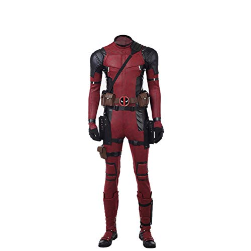 DP Movie Cosplay Costume Wade Costume Deluxe Leather Jumpsuit Outfit Bodysuits Halloween Costumes Kids S