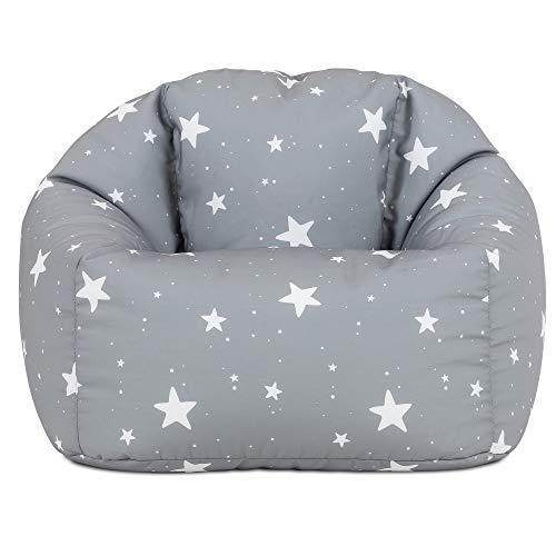 icon Kids Bean Bag Chair, Indoor Outdoor Beanbags for Children, Girls and Boys Kids Bean Bags for Bedroom, Living Room, Garden