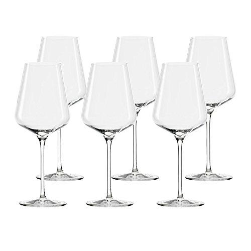 Stölzle Bordeaux-Glas, 6er-Set Quatrophil Rotweinglas NEU OVP