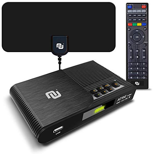 Why Choose TV Converter Box Digital to Analog ATSC Streaming Media Players PVR DVR Recorder w. 35 Mi...