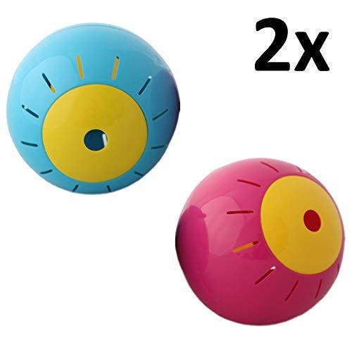 Megaprom 2X Hundefutter Ball | Hunde Katzen Snackball Futterball | Hundespielzeug | Katzenspielzeug | Hundeball, Katzenball, Spielzeug