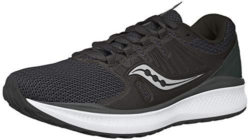 Saucony Women's VERSAFOAM Inferno Running Shoe, Black/Charcoal, 5.5 M US