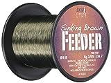 Akiro Feeder Hilo de Pesca, Unisex Adulto, marrón, 0.2 mm