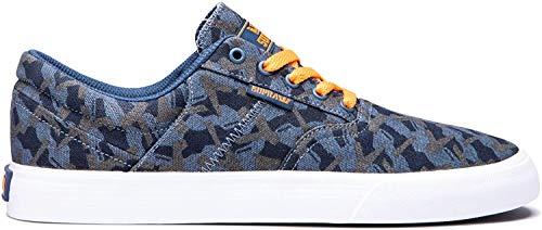 Supra Unisex-Erwachsene Cobalt Sneaker, Mehrfarbig (GEO CAMO-White-M 28), 44 EU
