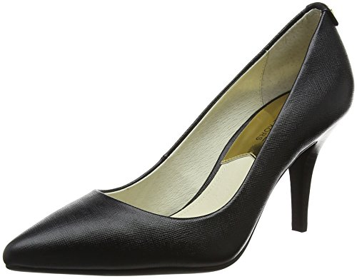 Michael Kors Damen Black Pumps, Schwarz (Maki-Flex Mid Pump 40t2mfmp2l), 40 EU