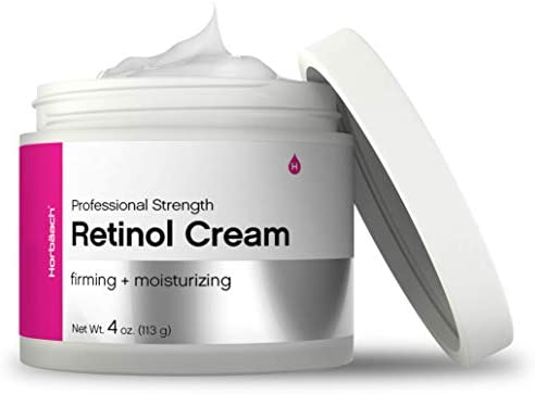 Retinol Cream for Face 4oz SLS Paraben Free Moisturizer By Horbaach product image