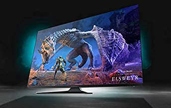 """Alienware 55 OLED Gaming Monitor: AW5520QF, World's First 55"""" OLED Gaming Monitor. Featuring 4K Resolution 3840 x 2160 at ..."""