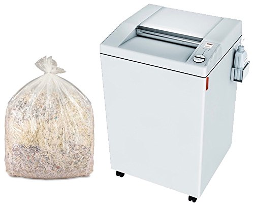 Read About MBM DESTROYIT 4005 STRIP CUT SHREDDER WITH SHREDDER BAGS AND OIL (Shredder with Bags)