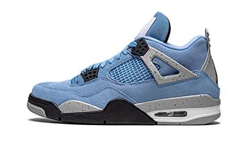 Jordan Mens Air 4 Retro CT8527 400 University Blue - Size 10