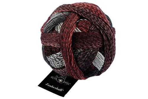 Schoppel Wolle Zauberball Fb. 2402 Aldebaran, Bunte Sockenwolle mit Farbverlauf zum Stricken oder Häkeln