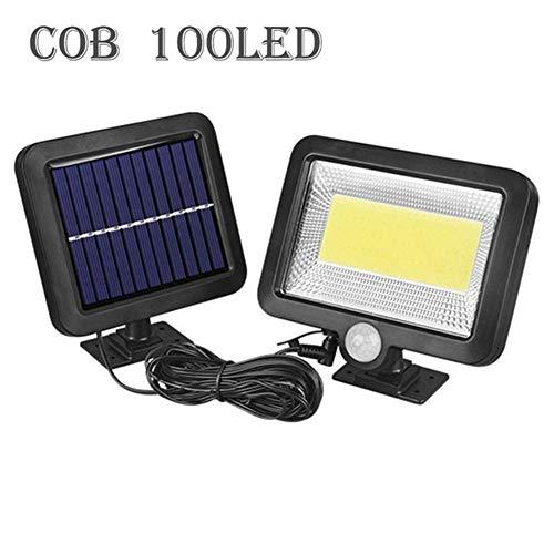 QIYUE 56/100 LED Solar Light PIR Motion Sensor Detection Wall Lamp Energy-saving Solar Lamp Waterproof Outdoor Indoor Lighting (Color : 100 leds)