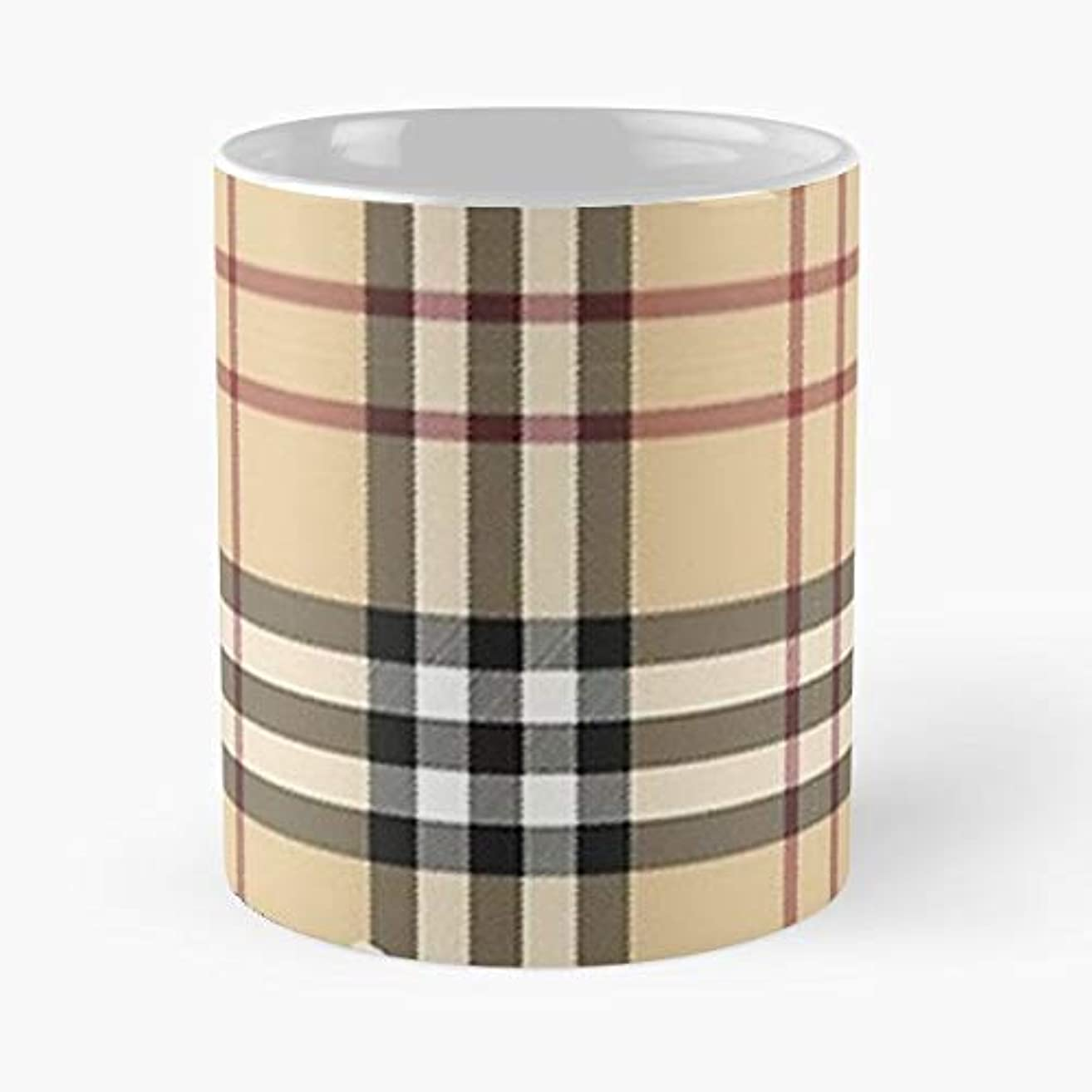 Pattern Burberry Pharis London - Coffee Mugs Best Gift For Father Day