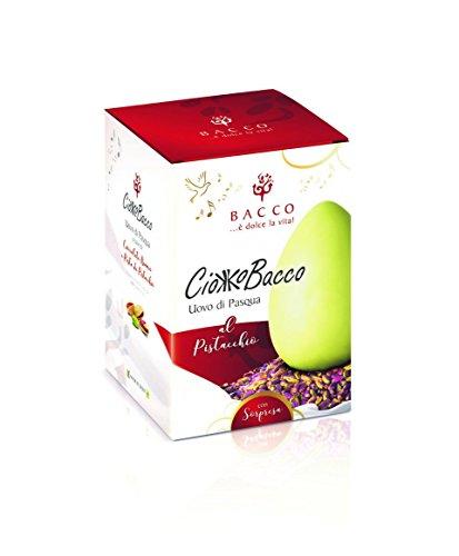 Ciokkobacco Uovo Artigianale Al Pistacchio Da 300 Grammi By Nelson Sicily