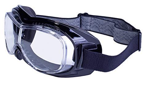Global Vision Eyewear mach-1Anti-Fog Schwimmbrille, farblos