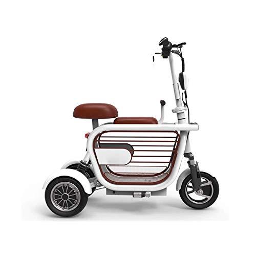 XiYou Scooter eléctrico para Adultos, Velocidad 30-35 km/H Resistencia máxima 80 km 580 W Cesta de Almacenamiento Grande de Alta Potencia Patinete de cercanías Plegable Carga máxima 280 kg Diseño