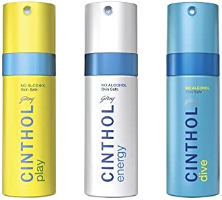 Cinthol Dive and Play with Energy Deo Spray, 450ml