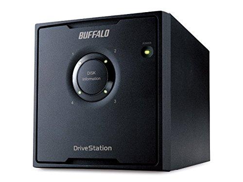 Buffalo HD-QH8TU3R5-EU DriveStation Quad Externe Festplatte 8TB (8,9 cm (3,5 Zoll), 4X 2TB, USB 3.0, 4X SATA)