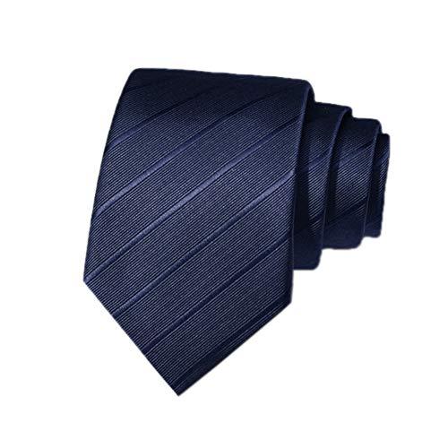 XIANGUO Cravatta da uomo Retro Cravatta da lavoro 5/6/8 cm Set di cravatte da uomo cucite a mano con confezione regalo Nero, Blu, Marrone e Viola