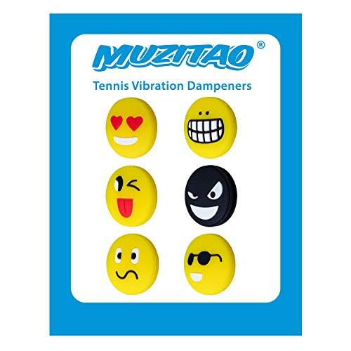 Amortiguadores Emojis de vibración de Tenis (Pack de 6 Unidades)