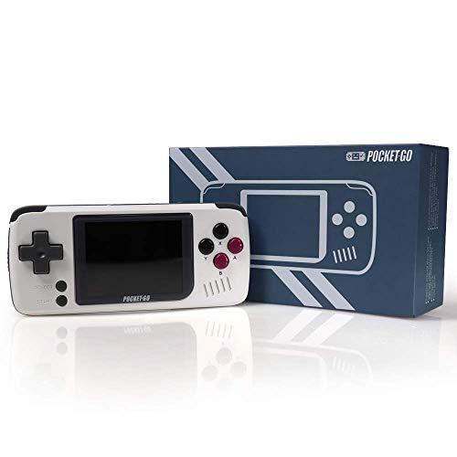 PocketGo Portable Handheld Retro Game Players Progress Save/Load MicroSD Card External Colorful 2.4' IPS Screen