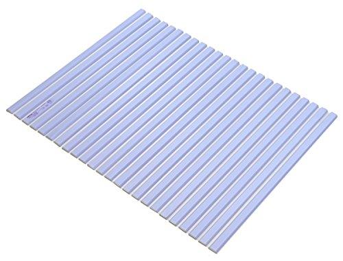 ミエ産業 風呂ふた 軽量 700×1125mm ブルー リーフネオ M11