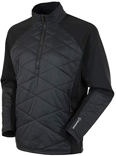 Great Price! Sun Ice Duke Hybrid Pullover (L) Black/Real Red