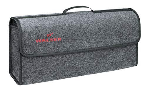 Walser 30304 Kofferraumtasche Toolbag mit Klettband 21.3 x 16 x 57 cm, Grau, Größe  XXL