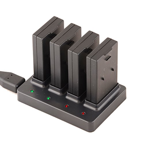 POWERUP FPV 550 Mah Multi Battery Charger Black