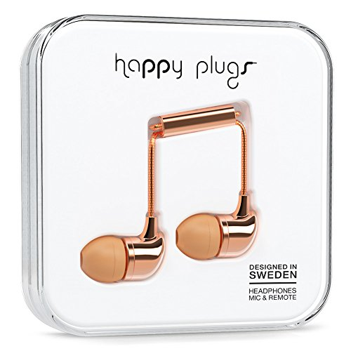 Happy Plugs 7727in-Ear Gold