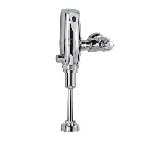 American Standard 6063.013.002 Exposed Flowise Selectronic 3/4-Inch Top Spud Urinal Flush Valve, DC Powered, 0.125 Gpf, Polished Chrome