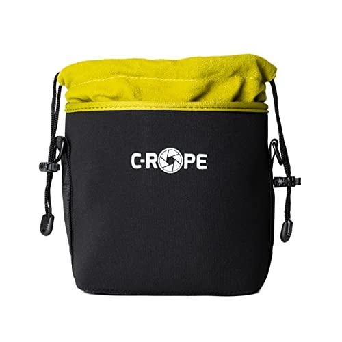 C-Rope Kamerabeutel aus Neopren mit Fleece-Fütterung - Größe M