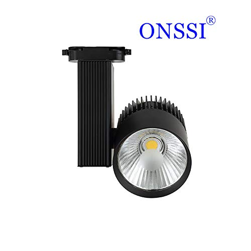 Faretto da binario LED 30W G8002-B Monofase Nero Neutro 4000k-4500k 3000lm ONSSI LED