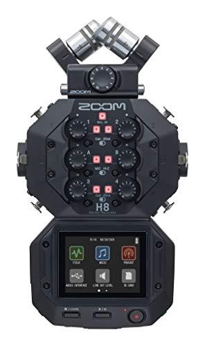 ZOOM ズーム ポッドキャスト フィールドレコーダー 8チャンネル 音楽制作 ハンディレコーダー H8