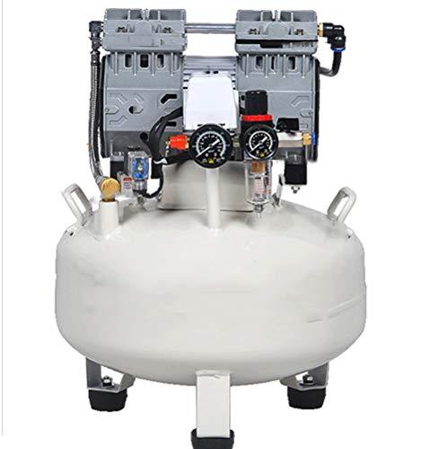 30L Runde Luftpumpe, Ölfreie Silent Air Compressor Dental Air Compressor Malerei Holzbearbeitung Luftpumpe Tragbarer Luftkompressor