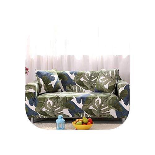 Slipcovers Sofa Flower Pattern Cove Tight wrap All-Inclusive Slip-Resistant sectional Elastic Full Sofa One/Two/Three/Four seat,21,Four seat Sofa