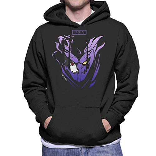 124 Sasuke Susanoo Naruto Men's Hooded Sweatshirt