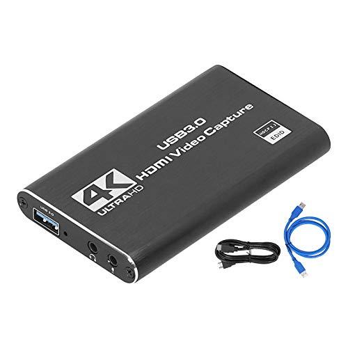 USB3.0 HDMI 4K 60Hz Unidad libre para tarjeta de captura Video de alta definición con LoopMetal, video de alta definición para tarjeta de captura con rendimiento estable y alta confiabilidad.