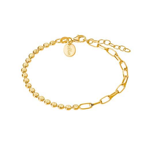 s.Oliver Armband für Damen, Sterling Silber 925