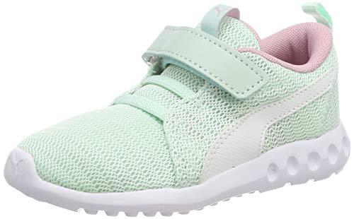 Puma Unisex-Kinder Carson 2 V Inf Sneaker, Blau (Fair Aqua White), 26 EU