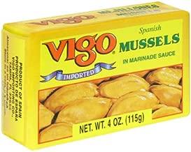Vigo Spanish Mussels in Marinade Sauce -- 4 oz