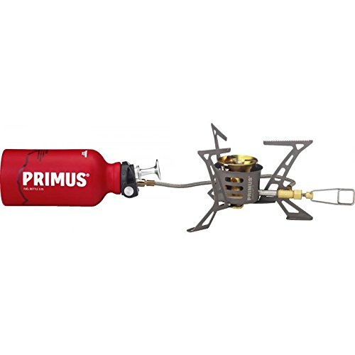 Primus OmniLite TI with . 35L fuel bottle, Heat reflector and windscreen P-321987