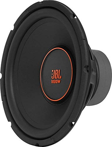 "JBL - GX Series 12"" Single-Voice-Coil 4-Ohm Subwoofer GX1200- Black"