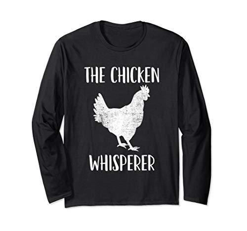 Huhn, Hühnerzüchter, Geflügel, Hühner Langarmshirt