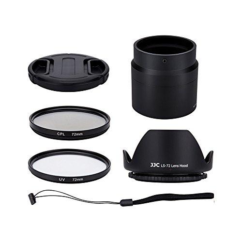 'Profoto. Trend-Kit de lentes para Nikon Coolpix B700, P600, P610, P610s cámara Digital-incluye adaptador de lentes, parasol, UV y polarizador circular filtros, tapa de objetivo y tapa Keeper